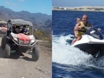 Buggy tour &Jet ski safari