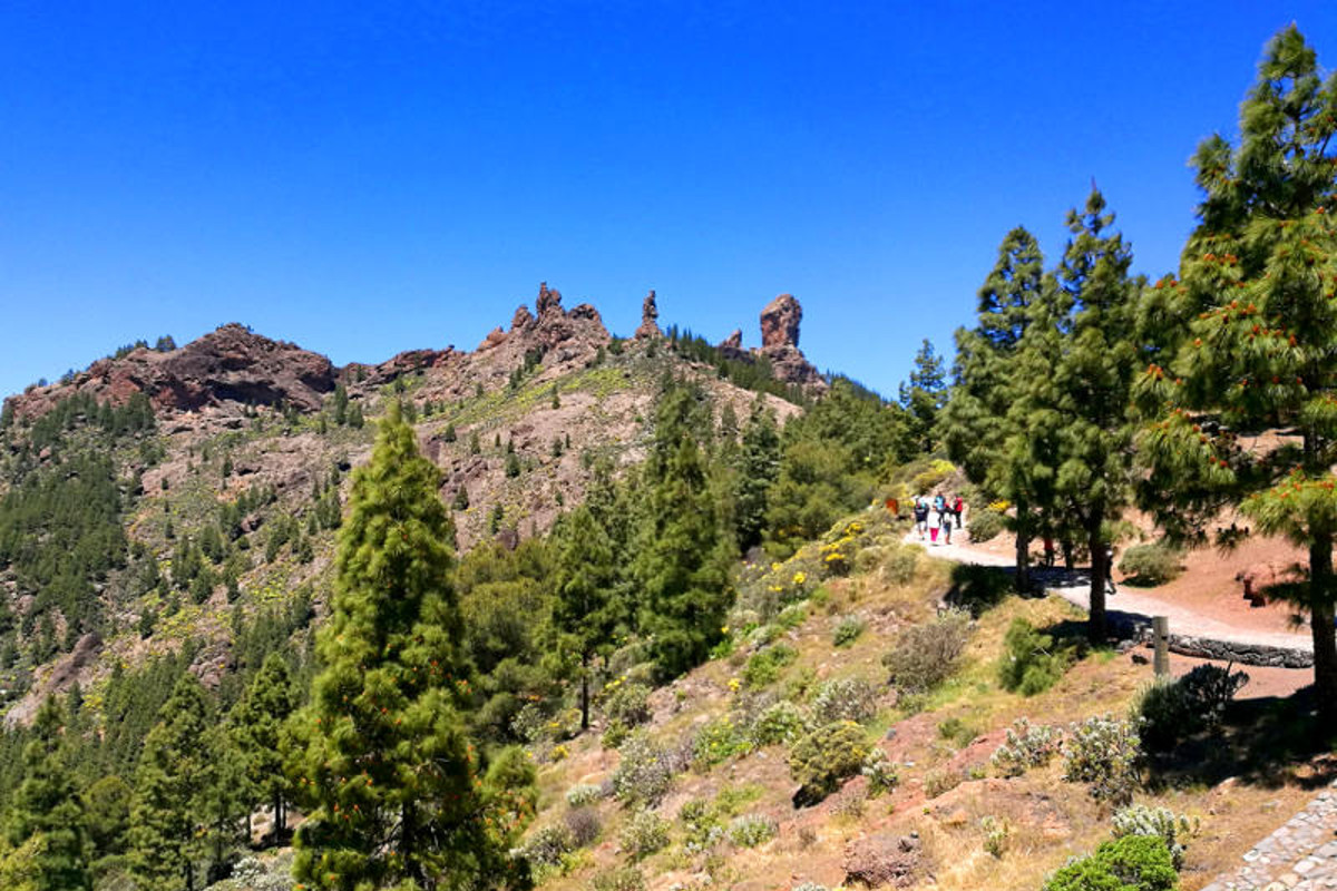 Walk to Roque Nublo